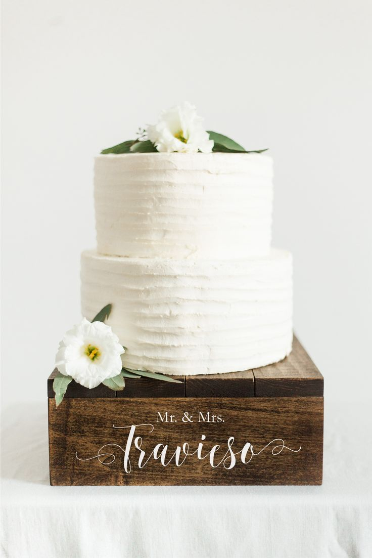 Rustic Wooden Cake Stand | Cupcake Stand | Wedding Cake Stand | SS-7