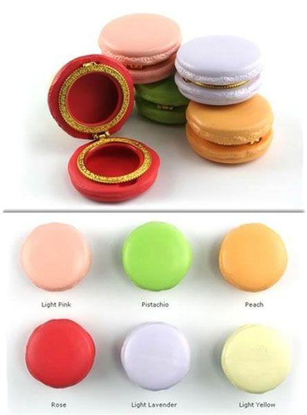 Macaroon Boxes - Macaroon Limoge Trinket Boxes | Design Happens