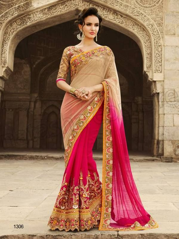 Latest collection Of Pakistani Designers Sarees