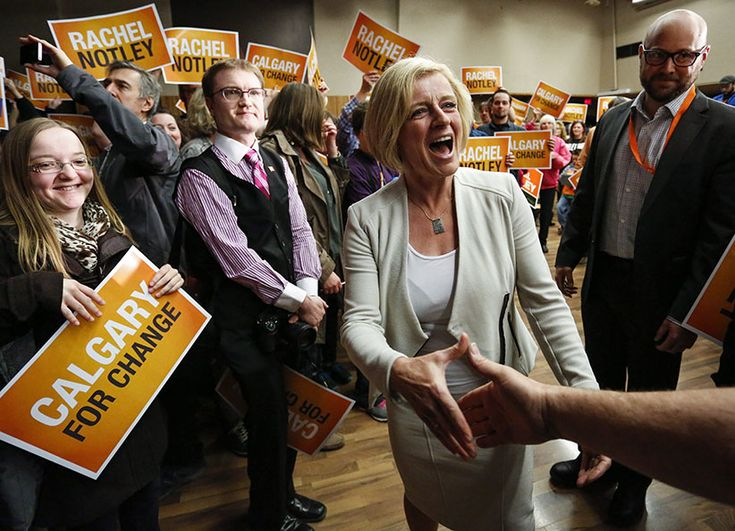 Why the Orange Revolution is not about Rachel Notley  Mythologizing the Alberta NDP leader is inevitable, but this election was all about sending a message to the Conservatives