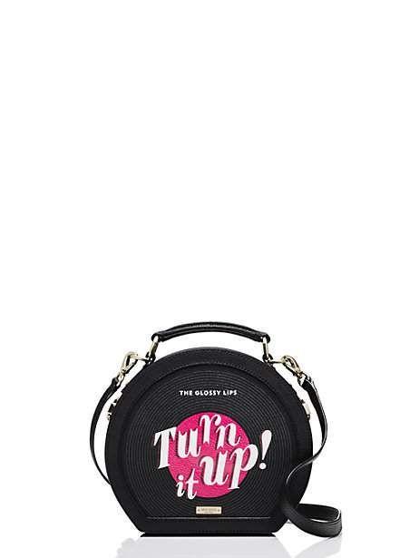 jazz things up record case bag - Kate Spade New York