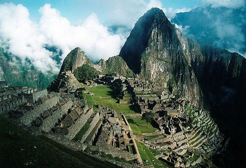 Sacred City of the Incas, Macchu Picchu, Peru.