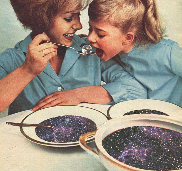 Spacefood Art Print by Sammy Slabbinck | Society6