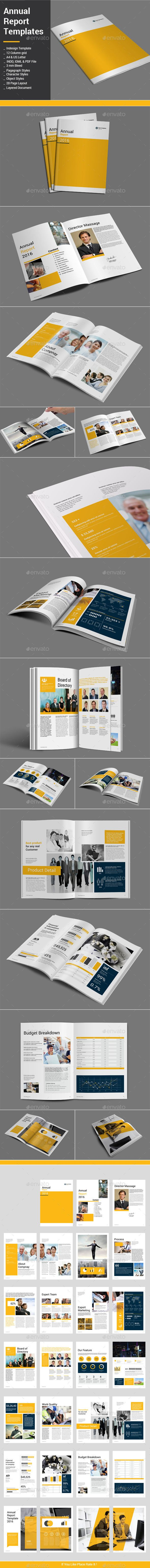 Annual Report Templates #design Download: http://graphicriver.net/item/annual-report-templates/12750573?ref=ksioks