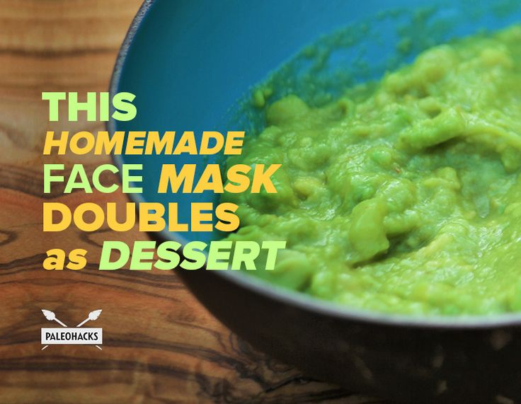 This Homemade Face Mask Doubles As Dessert