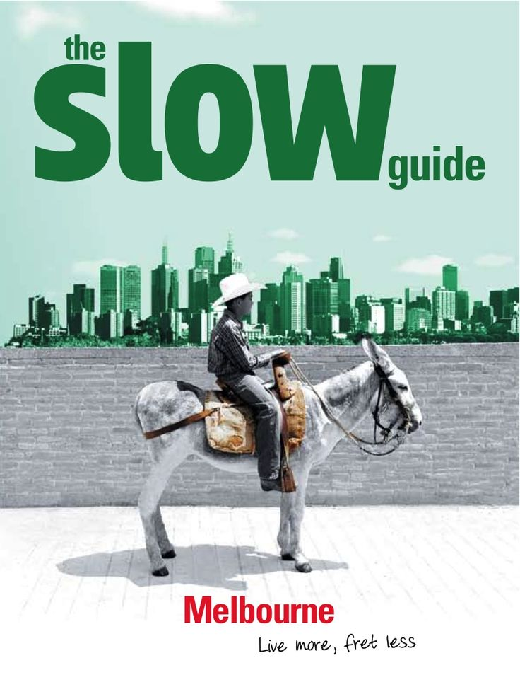 The Slow Guide to Melbourne from Affirm Press is a lifestyle guide for those who want to slow down and live it up. An alternative to guidebooks, it celebrates all that is local, natural, traditional, sensory and most gratifying about living in this corner of the world.