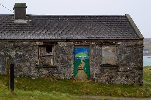 Mural, Inishbofin, Co. Galway, Ireland