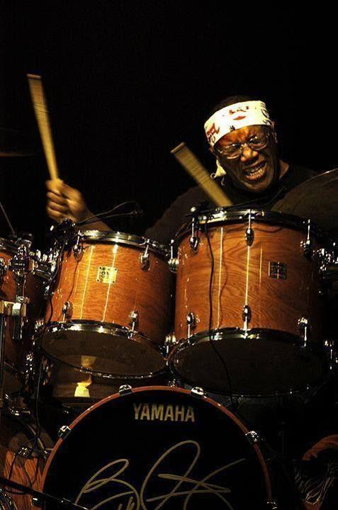 Billy Cobham, monster drummer for Mahavishnu Orchestra