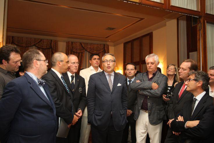 2010, Venezia Danieli, Bubble's Forum, Giampietro Comolli apre il tasting internazionale