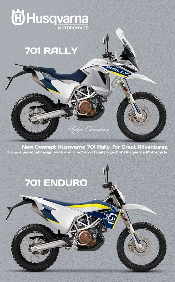 Husq 701 Enduro MotorcycleMotorcycle