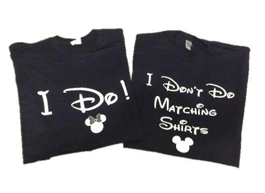 Disney Shirt // I Don't Do Matching Shirts and I Do! Disney Shirt // Disneyland // Disney shirts for couples