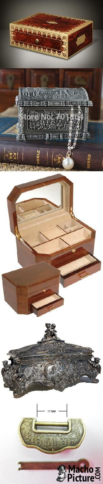 Vintage style jewellery box - 6 PHOTO!
