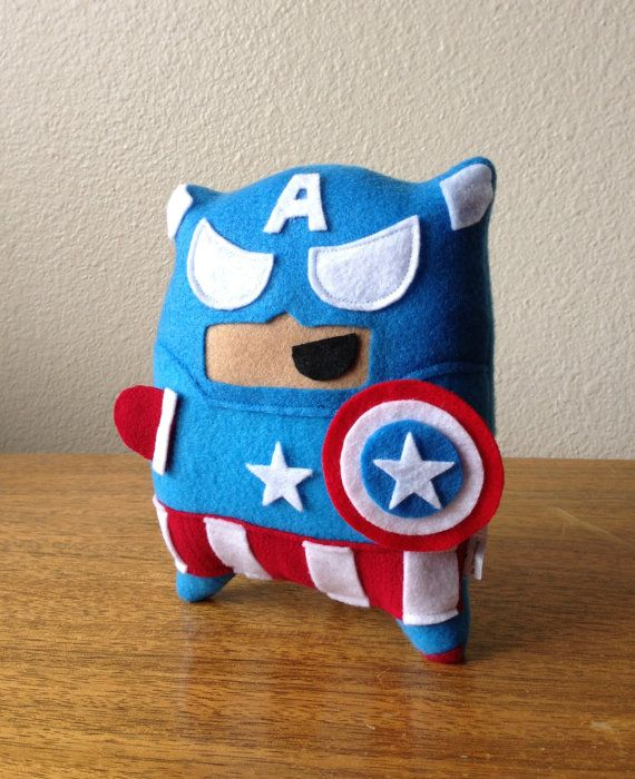 Captain Pillow Fighter on Etsy, $20.00