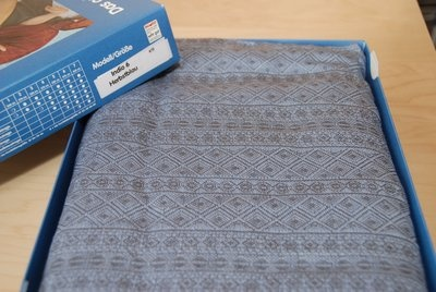 Didymos Indio Autumn Blue.  This beauty is on her way to me :)