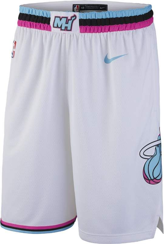 5f7bef54f9ce Nike City Edition Swingman (Miami Heat) Men s NBA Shorts
