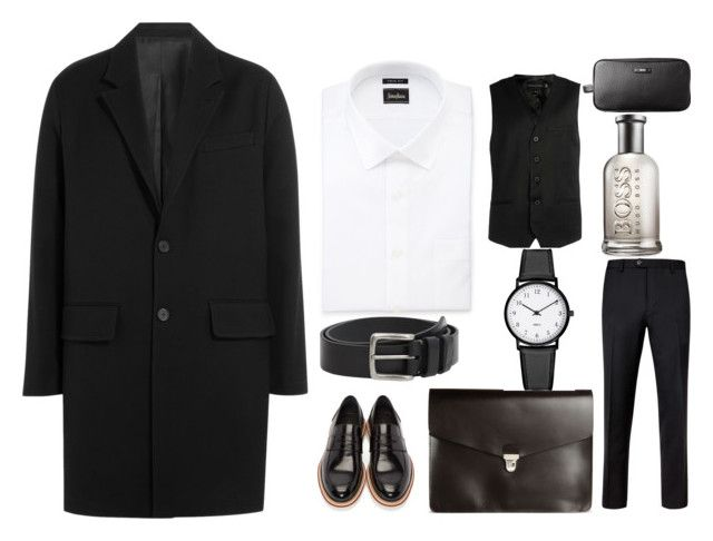 """""""///"""" by dobrayaprosto ❤ liked on Polyvore featuring AMI, Neiman Marcus, Rogues of London, Jimmy Choo, MANGO MAN, Ted Baker, A.P.C., HUGO, men's fashion and menswear"""