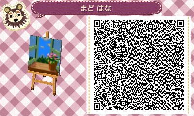 ACNL/ACHHD QR CODE-Wall-Window