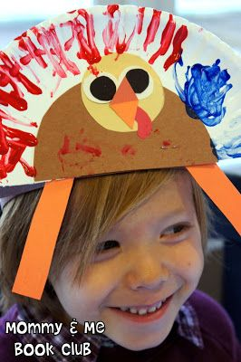 Gathering Activity: Turkey Hats      We made these adorable turkey hats from Lindsay Blogs . I love the way they turned out, and as you can...