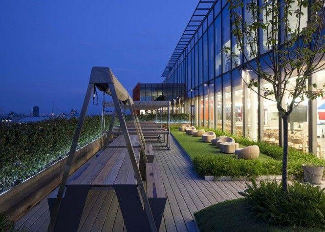Roof Garden In Google London Office