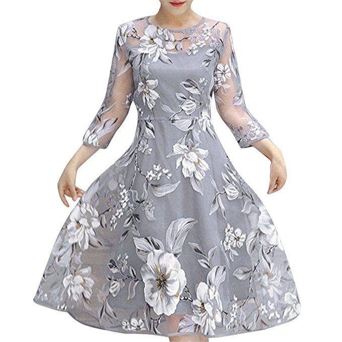 newest collection fcd90 65466 Damen Kleider,Damen Kleider Elegant Kurz,Damen Kleid Sommer ...