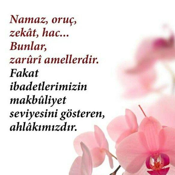 ✏ Namaz, oruç, zekat, hac. Bunlar zorunlu amellerdir. Fakat ibadetlerimizin makbuliyet seviyesini gösteren, ahlâkımızdır.  [Osman Nuri Topbaş]  #namaz #oruç #zekat #hac #zorunlu #ibadet #makbul #ahlak #söz #osmannuritopbaş #nuritopbaş #alim #hoca #ilmisuffa