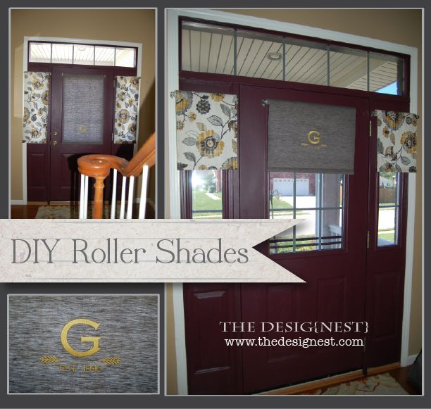 Custom Roller Shades For Windows : Turn your plastic roller shades into custom fabric window