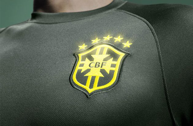 Nike Design Brasil's National Football Team Kit