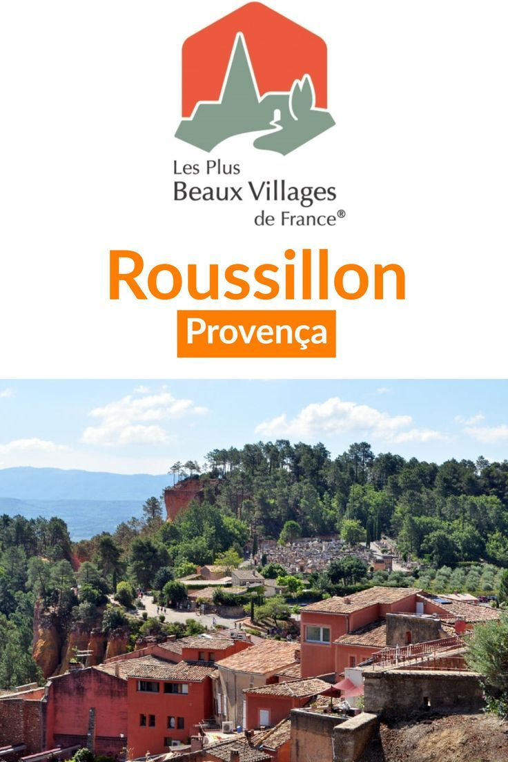 #Roussillon na #Provença, uma das mais belas vilas da #França