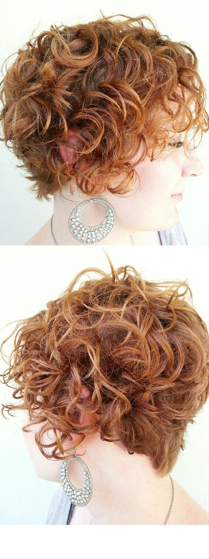 "#curly #hair #short ""Yep, pinning my own haircut. SO hard to find a decent curly cut!"""