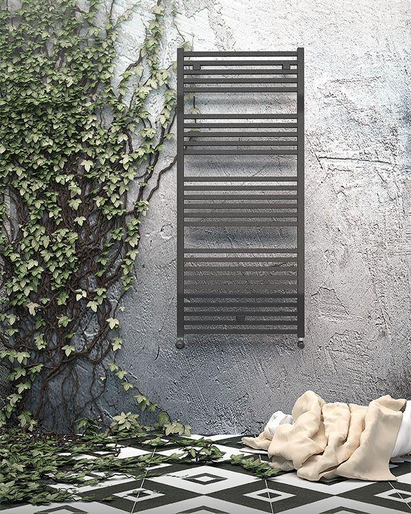 Towel Warmers in bathrooms and public areas   DL Radiators range.  #design #radiators #interiordesign #DLRadiators #inspiration #minimal #architecture