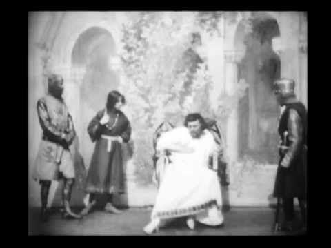 1st William Shakespeare Film Adaptation - King John (1899) - William K.L. Dickson | Walter Dando