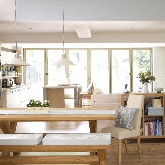 7 best images about open plan living on pinterest home interiors kitchen dining rooms and for Open plan dining and living room