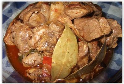 Caldereta de cordero extremeña. Recetas de cocina española