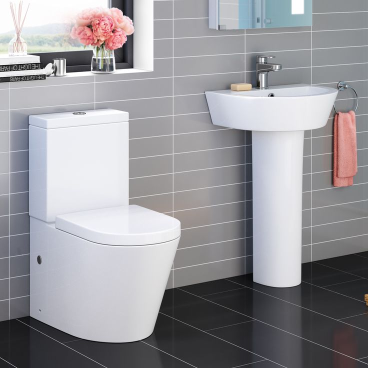 Lyon II Close Coupled Toilet   Pedestal Basin Set. 17 Best ideas about Pedestal Basins on Pinterest   Pedestal basin