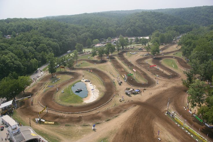 Loretta Lynn's National Motocross track. It is like the world series of amateur motocross. This is where the best go each year to compete.