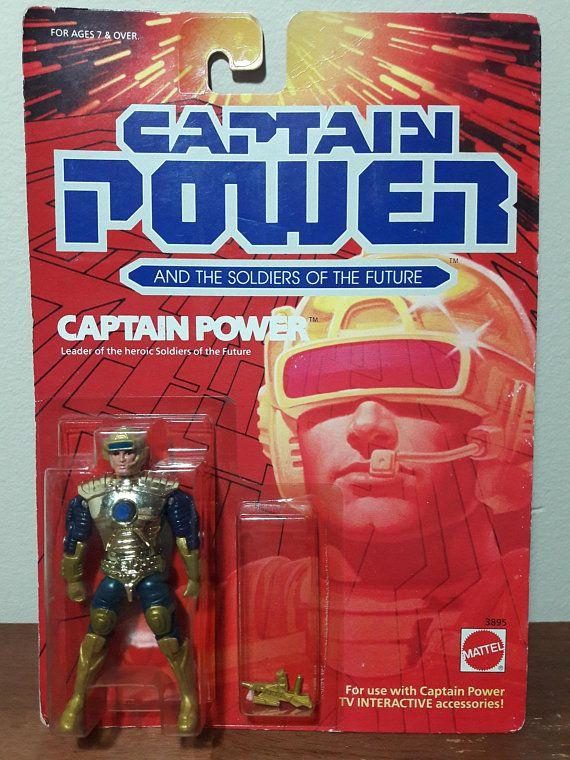 Action Figure Mattel Vintage 1987 Captain Power Combine Shipping! CHOOSE