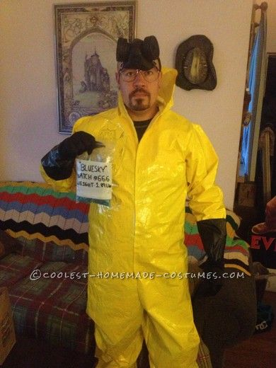 best homemade breaking bad costume - Halloween Costume Breaking Bad