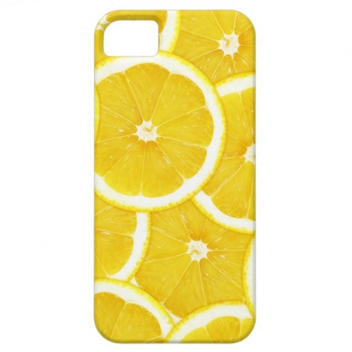 Lemon Slices iPhone 5 Case