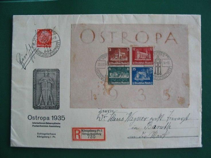 DR 1935 OSTROPA Block 3 auf R-Brief mit tollen Stempeln + ANSEHEN LOHNT + (D478) in Briefmarken, Deutschland, Deutschland vor 1945 | eBay!