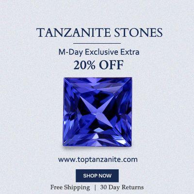 #MemorialDay special offers  #M-Day #USA #TanzaniteLooseStonesPrices