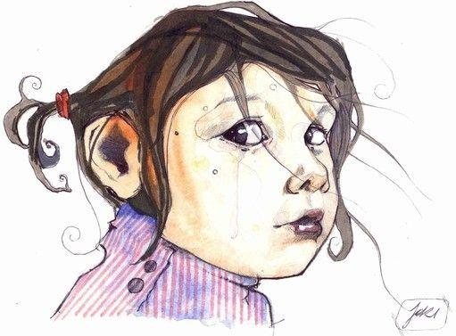 Sketchbook by Jari Di Benedetto, via Behance