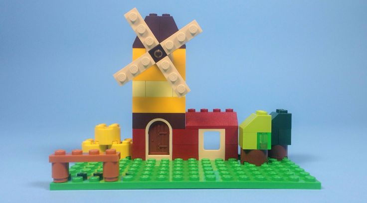 Germany Building Toys For Boys : Lego windmill building steps classic quot how to