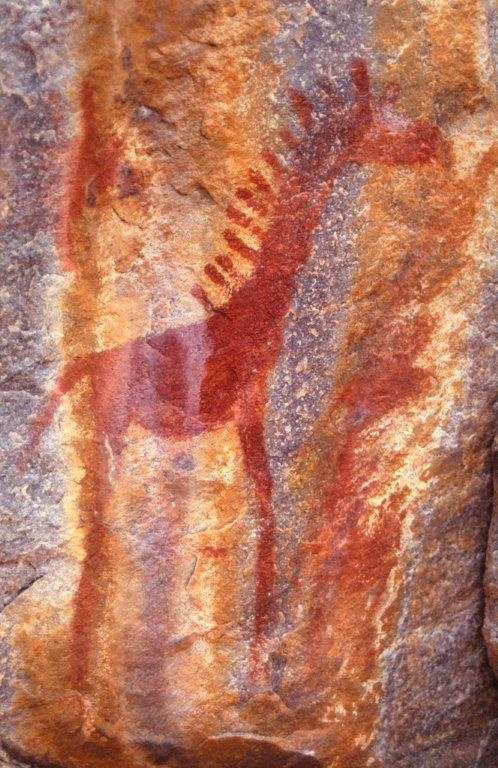 Tsodilo Hills, Botswana. UNESCO World Heritage Site.  The site features more than 4,500 rock art paintings in the Kalahari Desert. Archaeological records provide evidence of human and environmental activities ranging over 100,000 years BelAfrique - Your Personal Travel Planner - www.belafrique.com