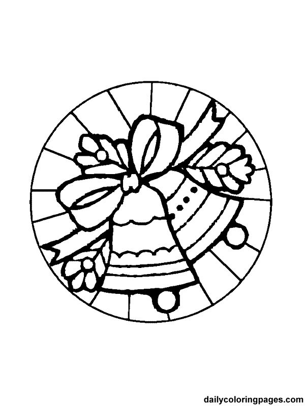 173 best coloring: bells images on pinterest | le'veon bell ... - Christmas Ornament Coloring Sheet
