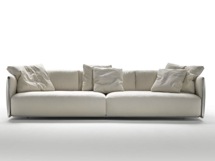 Fabric Sofa With Removable Cover EDMOND By FLEXFORM Design Carlo Colombo