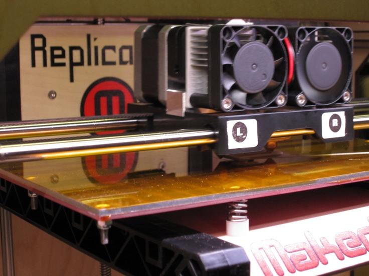 Inside the MakerBot