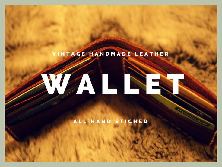Vintage rustic handmade leather company having wide experience of leather craftsmanship. We make exclusive range of unisex products for your comfort.