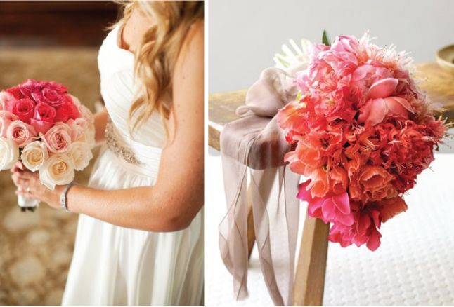 Wedding Trend: Ombre bouquetPink Flower, Ideas, Wedding Trends, Ombre Bouquets, Ombre Flower, Wedding Bouquets, Nice Beautiful, Bellethemagazine Com, Ombre Pink