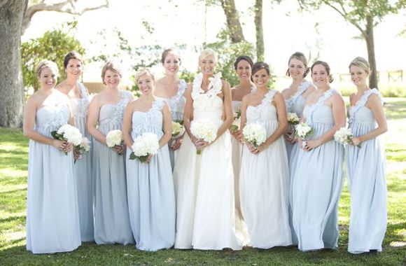 love the color, not so much the style « Southern Weddings Magazine