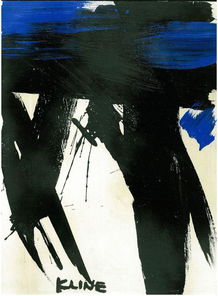 FRANZ KLINE -Franz Kline. Franz Kline Paintings, plastic arts, visual arts, art, abstract expressionism